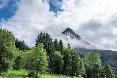 Fototapeta Krajobraz górski w Tyrolu, Austria