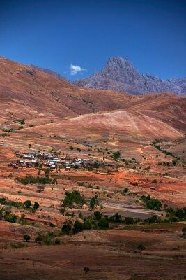 Krajobraz, Madagaskar, Afryka