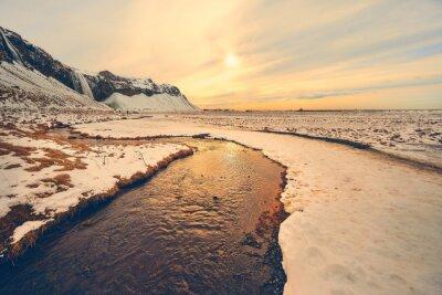 Krajobraz na Islandii