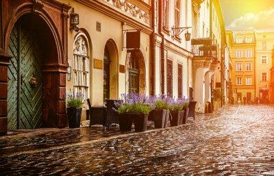 Fototapeta Kraków - Historyczne centrum Polski