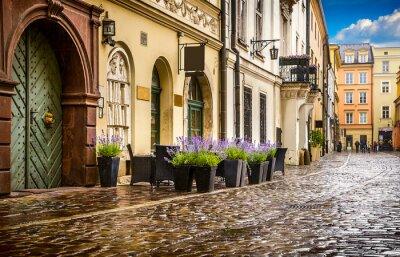 Fototapeta Kraków - historyczne centrum Polski, miasto, starożytny