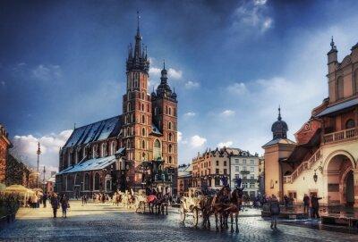Fototapeta Kraków ratusz