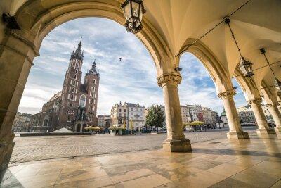 Fototapeta Kraków Rynek, Polska