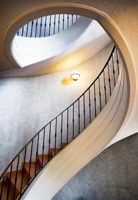 Fototapeta kręcone schody