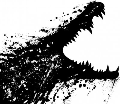 Fototapeta krokodyl