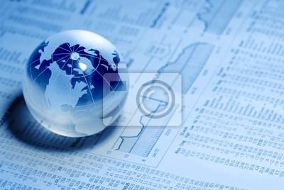 Kryształ Globalna na wykres finansowych
