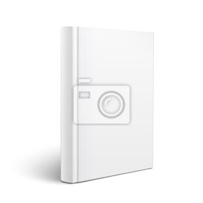 Fototapeta Książka puste pionowe szablonu.