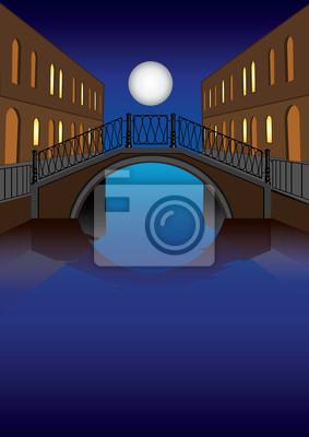 Księżyc i bridge