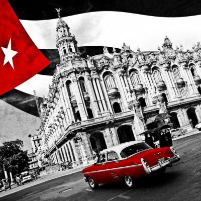 Fototapeta Kuba (n & b)