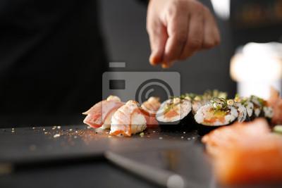 Fototapeta Kuchnia japońska, sushi