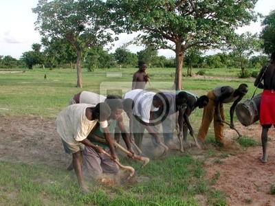 Fototapeta kultury au Burkina Faso