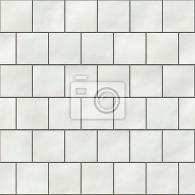 Kwadratowe Białe Płytki Bez Szwu Tekstury W Stylu Angielskim Fototapety Redro