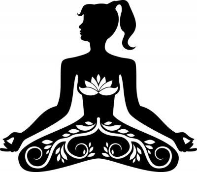 Fototapeta Kwiatowy medytacja
