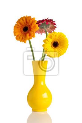 Kwiaty i wazon.