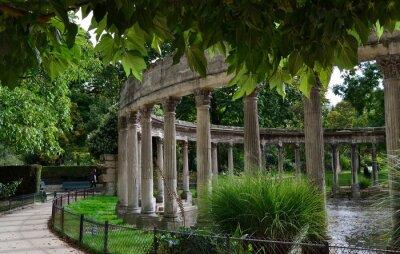 Fototapeta La kolumnada du Parc Monceau w Paryżu