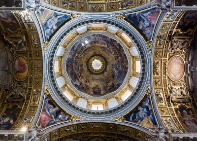 Fototapeta La kopuła Santa Maria Maggiore w Rzymie Bazylika
