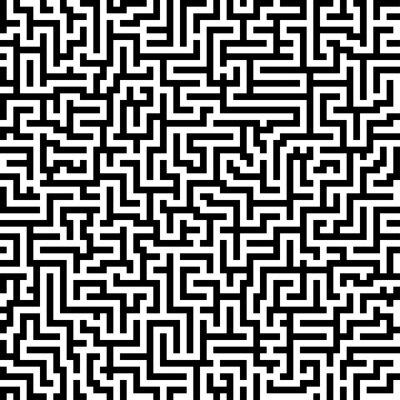 Fototapeta Labyrinth - endlos