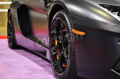 Fototapeta Lamborghini boku bliska