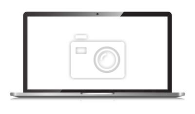 Fototapeta Laptop isolated