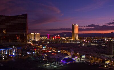 Fototapeta Las Vegas i Trump Tower
