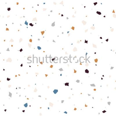 Fototapeta Lastryko podłoga teksturowana nawierzchniowa nowożytnego abstrakta wzór. W kolorach miękkich pastelowych kolorów.