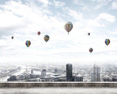Fototapeta Latające balony