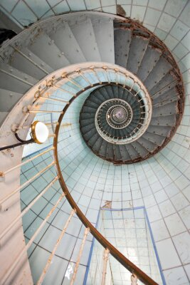 Fototapeta latarni wysokie schody