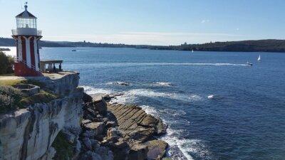 Fototapeta Latarnia Hornby, Watson Bay, Sydney, Australia