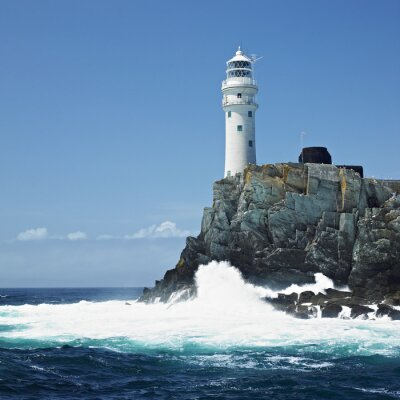 Fototapeta Latarnia morska, Fastnet Rock County Cork, Irlandia