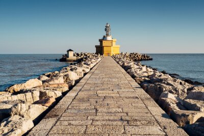 Fototapeta Latarnia morska Punta Sabbioni, Jesolo - Italia