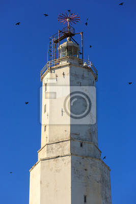 Latarnia rumeli w czarnomorskim wybrzeżu Stambułu
