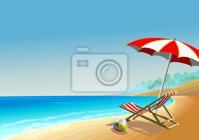 Latem plaża