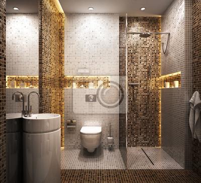 łazienka 10 Fototapety Redro