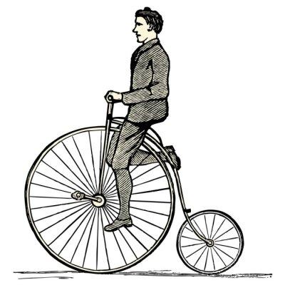 Fototapeta Le rower