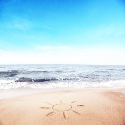 Fototapeta letnia plaża