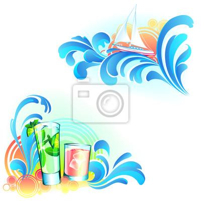 Letnia plaża Narożniki