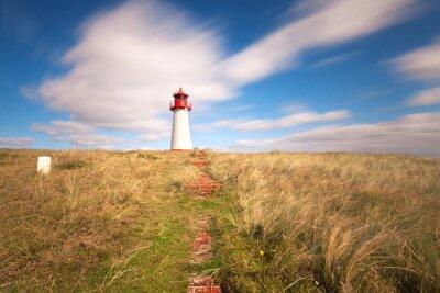 Fototapeta Leuchturm Lista - Insel Sylt