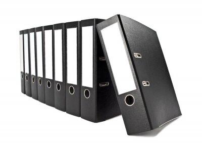Fototapeta Liczba folderów plików