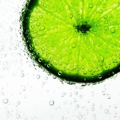 Fototapeta Lime in the water