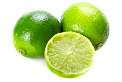 Fototapeta Limes na białym tle