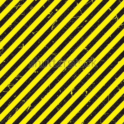 Fototapeta linia żółty i czarny kolor z teksturą.