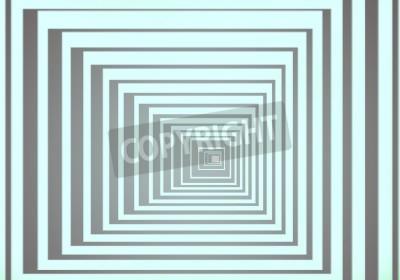 Fototapeta linie świetlne Tunel abstrakcyjne tło