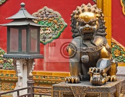 Lioness utrzymanie wartownik, Chiny