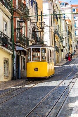 Fototapeta Lisbon's Gloria funicular