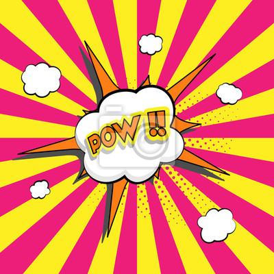 Litera bang. Bąbelkowy ikona programu word frazy, kreskówka ekskluzywna etykietka tagu ekspresji, ilustracja dźwięków. Balon komiksów z komiksów.