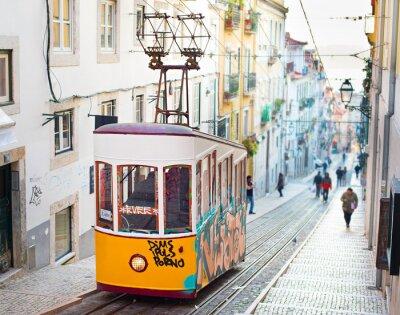 Fototapeta Lizbona kolejki