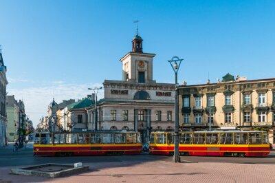Fototapeta Łódź - Plac Wolności; Polska