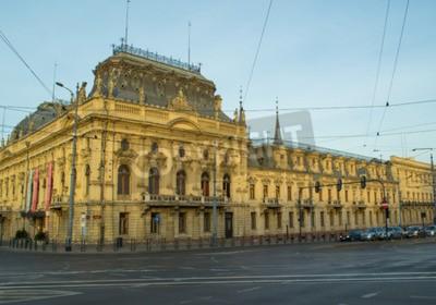 Fototapeta Łódź, Polska - Pałac w stylu neobarokowym przedsiębiorcy tekstylnego Izraela Poznańskiego