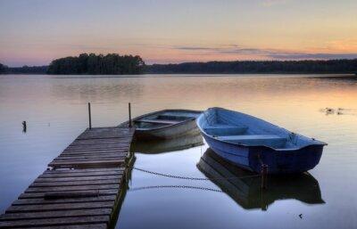 Fototapeta Łodzie i jeziora