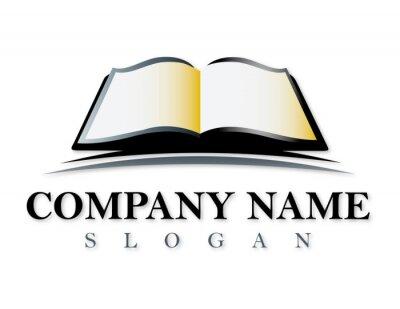 Fototapeta Logo Book